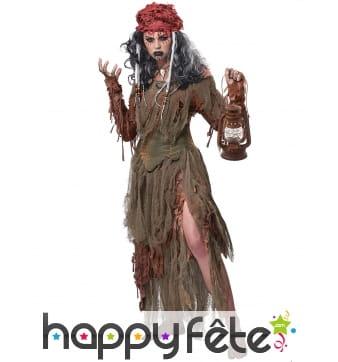 Costume de la sorcière du lac pour adulte