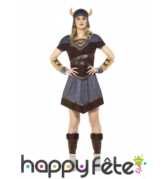 Costume de lady Viking