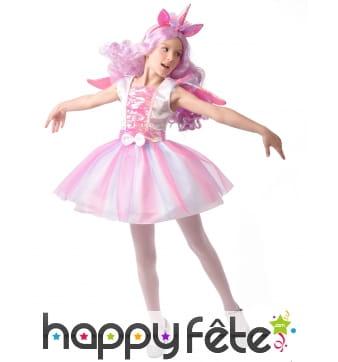Costume de licorne danseuse pour fille