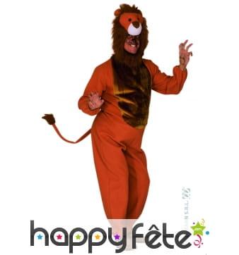 Costume de lion adulte