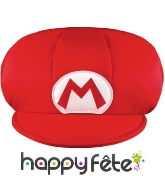 Casquette de Mario taille enfant