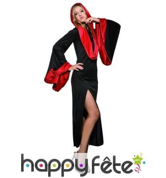 Costume de magicienne séductrice