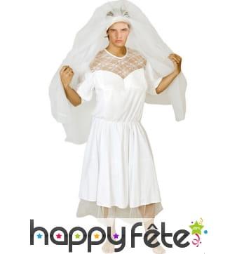 Costume de mariée blanche pour homme