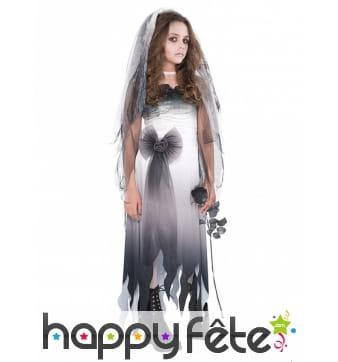 Costume de mariée fantôme pour adolescente