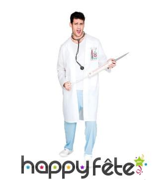 Costume de médecin pour homme