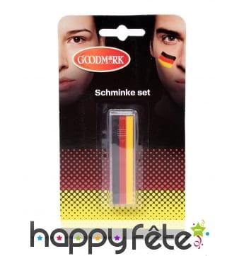 Crayon de maquillage drapeau Allemand