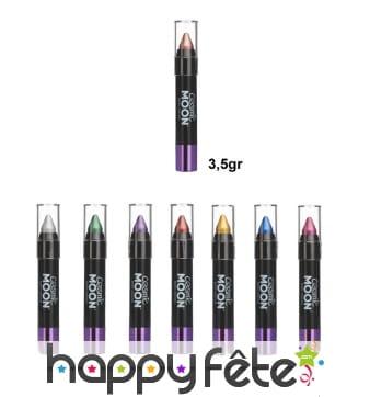 Crayon de maquillage effet métallique