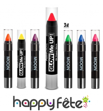 Crayon de maquillage fluo UV, Moonglow