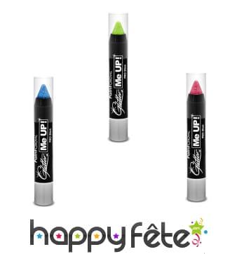 Crayon de maquillage pailleté UV