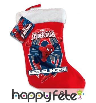 Chaussette de Noël Spiderman