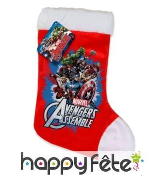 Chaussettes de Noël Avengers