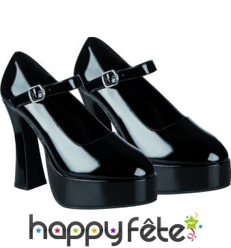 Chaussures disco noires