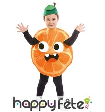 Costume d'orange pour enfant