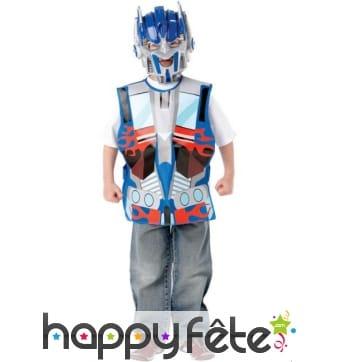 Costume de Optimus Prime pour petit garçon