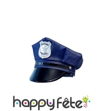 Casquette de policier pour enfant
