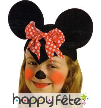 Coiffe de petite souris enfant