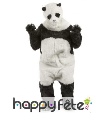 Combinaison de panda pour adulte