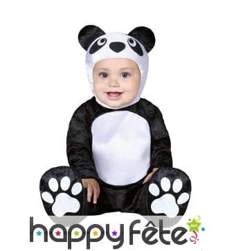Combinaison de panda pour bébé