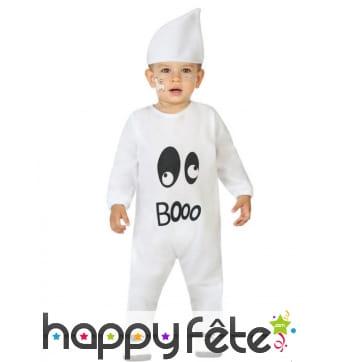 Combinaison de petit fantôme booo pour bébé