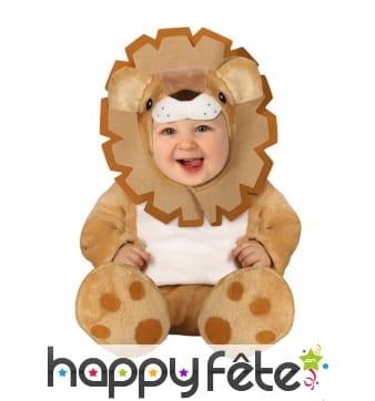 Combinaison de petit lion pour bébé