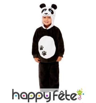 Combinaison de petit panda pour enfant