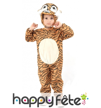 Combinaison de petit tigre pour enfant