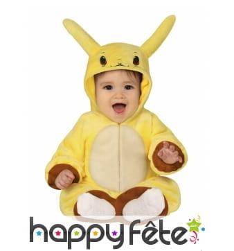 Combinaison de Pikachu pour bébé