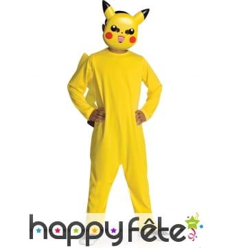 Combinaison de Pikachu pour enfant