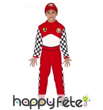 Combinaison de pilote de course pour enfant