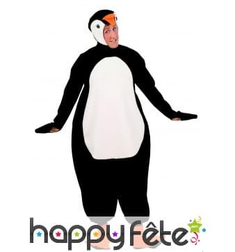Combinaison de pingouin pour homme adulte