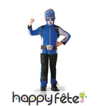 Combinaison de Power Rangers bleu pour enfant