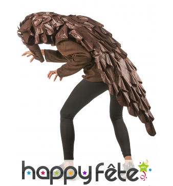 Costume de pangolin pour adulte