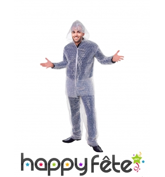 Costume de papier bulle
