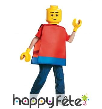 Costume de personnage LEGO pour enfant