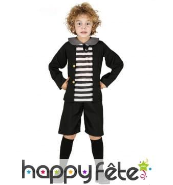 Costume de petit écolier maléfique