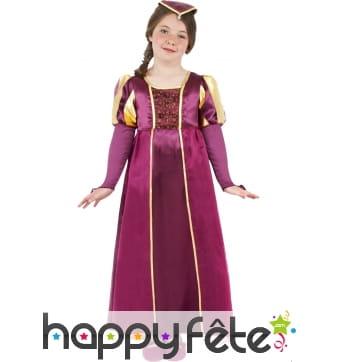 Costume de petit fille tudor