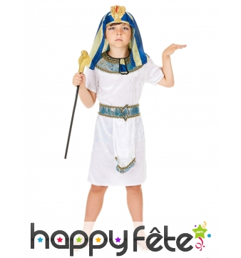 Costume de petit pharaon pour enfant