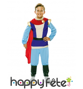 Costume de petit prince charmant