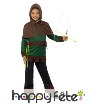 Costume de petit robin des bois pour enfant