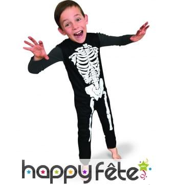 Costume de petit squelette