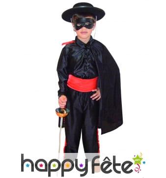 Costume de petit Zorro pour garçon