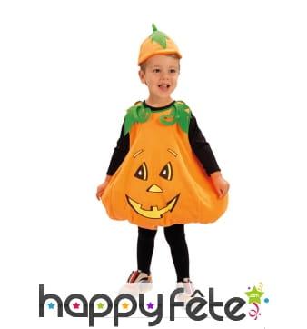 Costume de petite citrouille pour enfant