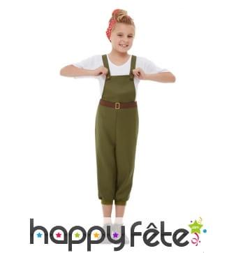 Costume de petite paysanne années 50