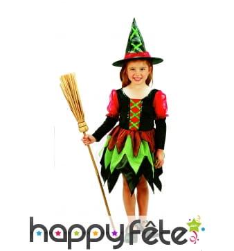 Costume de petite sorcière pour enfant