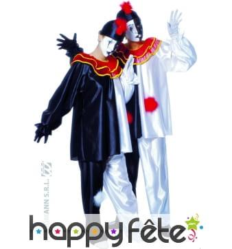 Costume de Pierrot unisexe