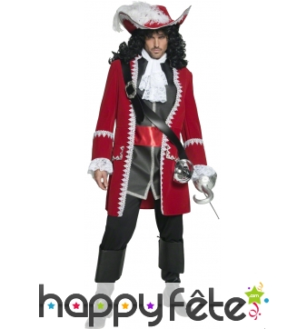 Costume de Pirate rouge