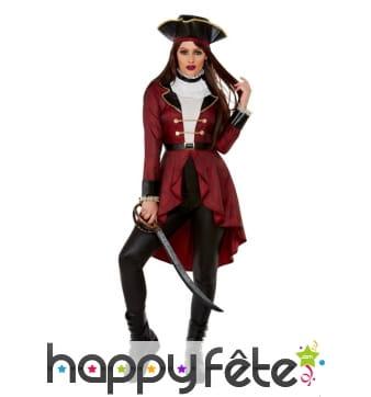 Costume de Pirate Swashbuckler pour femme