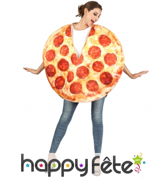 Costume de pizza pour adulte