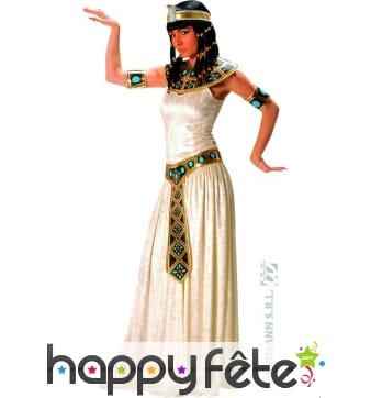 Costume de prêtresse égyptienne