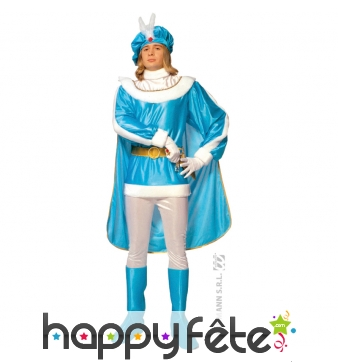 Costume de prince bleu